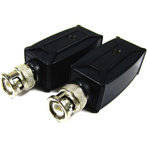 BeMatik - Extensor de vídeo compuesto UTP Cat.5 emisor y receptor CE01