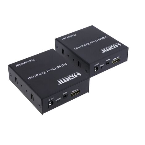 BeMatik - Extensor HDMI por cable UTP 120m 1080p con infrarrojos