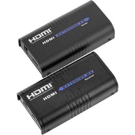 BeMatik - Extensor multiplicador HDMI a través de LAN Tx y Rx