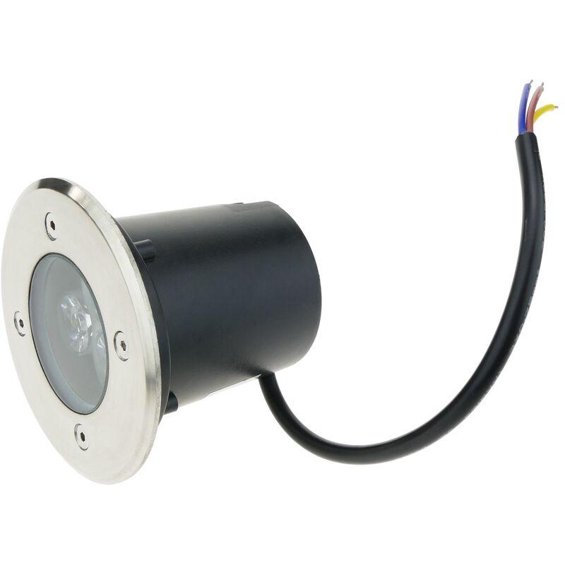 Faretto a LED 3W 90mm. Verde chiaro - Bematik