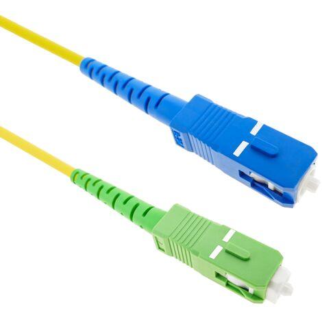 BeMatik - 2m 9/125 single-mode single-mode SC / PC to SC / APC fiber optic cable