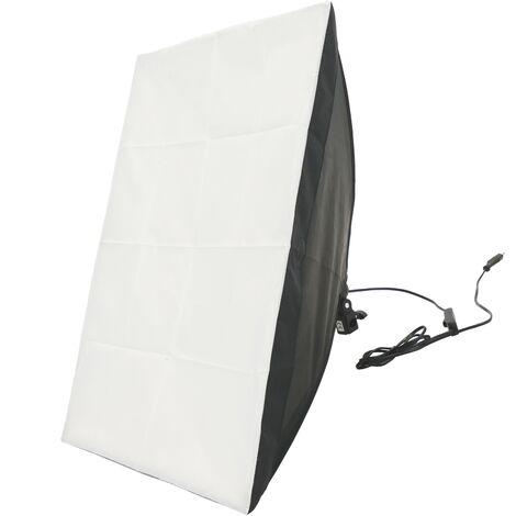 BeMatik - Foco de luz continua con softbox 50x70cm 1xE27