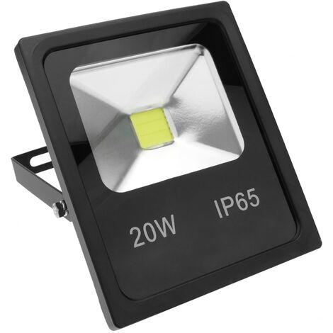 BeMatik - Foco LED IP65 20W 1800LM con fijación orientable