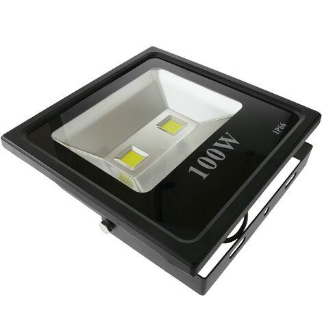 BeMatik - Foco LED IP66 100W 9000LM con fijación orientable