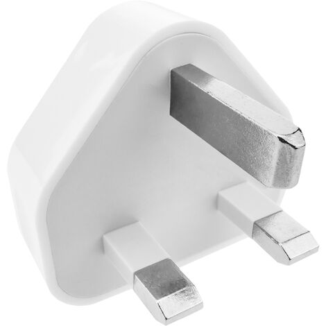 BeMatik - Fuente de alimentación UK 220VAC a USB A hembra 5VDC 1A