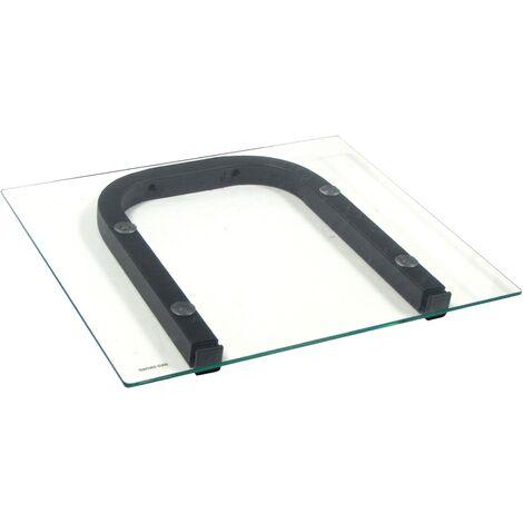 BeMatik - Glass shelf brackets OH02 (ACC-211)