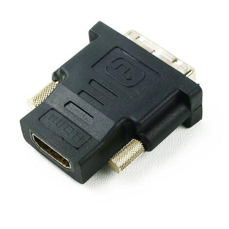 BeMatik - HDMI A female to DVI-D male Adapter
