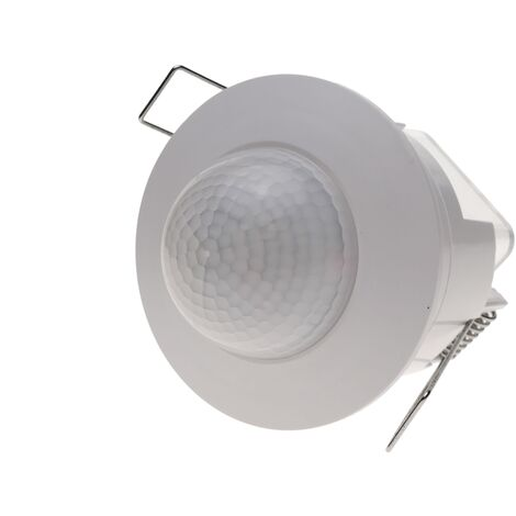 BeMatik - Infrared motion detector with recessed ceiling white