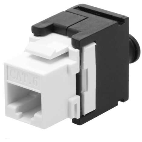 BeMatik - Keystone RJ45-Female to TB110 (Cat.6 UTP without tools)