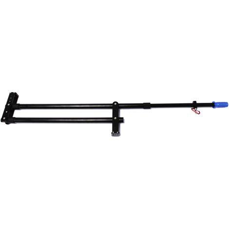 BeMatik - Kran für DSLR-Fotografie und Video, um erweiterbare und tragbare Klapp 122cm DV