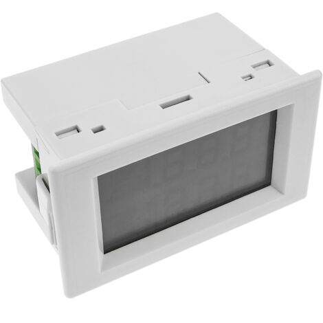 BeMatik - LCD 3-digit display and with 0-600V 220VAC for panel white