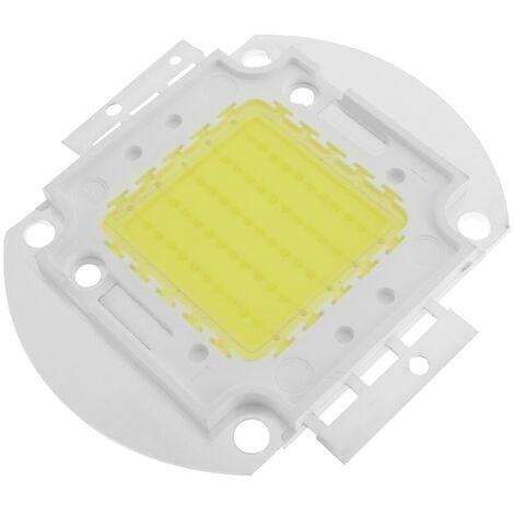 BeMatik - LED COB DIY 50W 6500LM 6000K emisor de luz blanco día 40x55mm