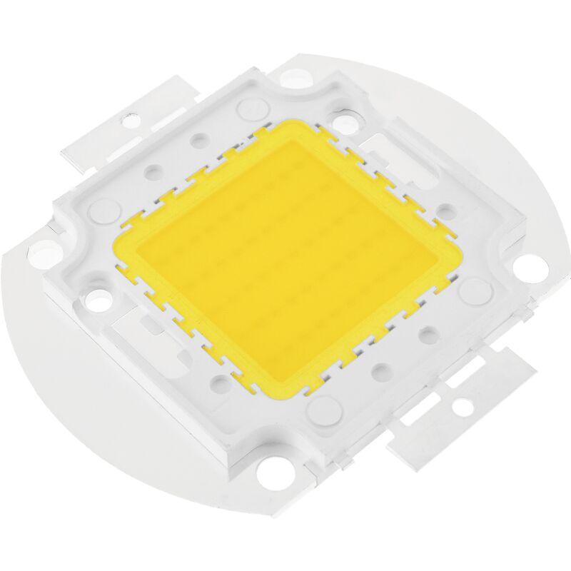LED DIY COB 50W 4000LM 3000K luce bianca calda che emette 56x52mm - Bematik