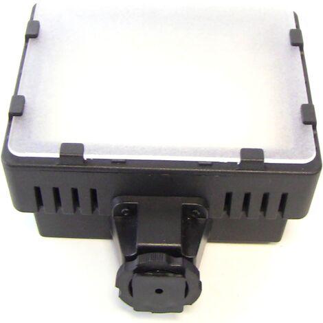BeMatik - LED Lamp 76LED Camera 4.56 W