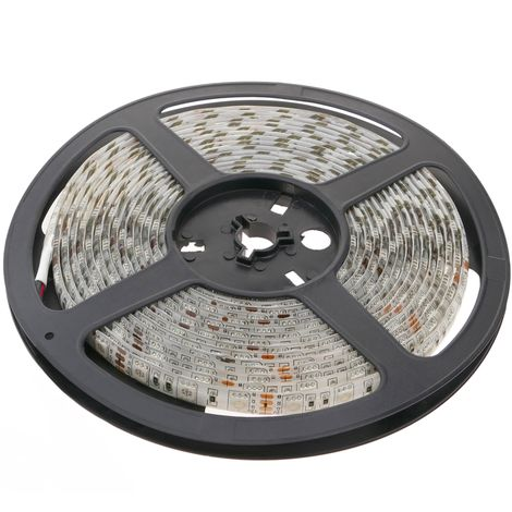 BeMatik - LED strip flexible 13 lm/led 60 led/m 5m IP44 green