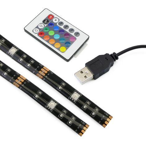 BeMatik - Lumière ambiante RGB LED rétro-éclairage TV