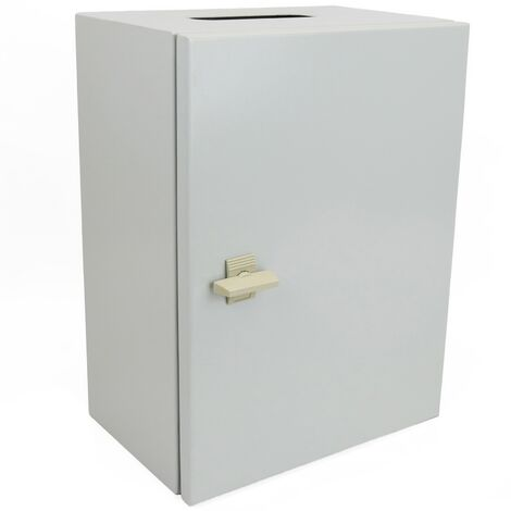 BeMatik - Metal electrical distribution box IP65 for wall mounting 300x200x150mm