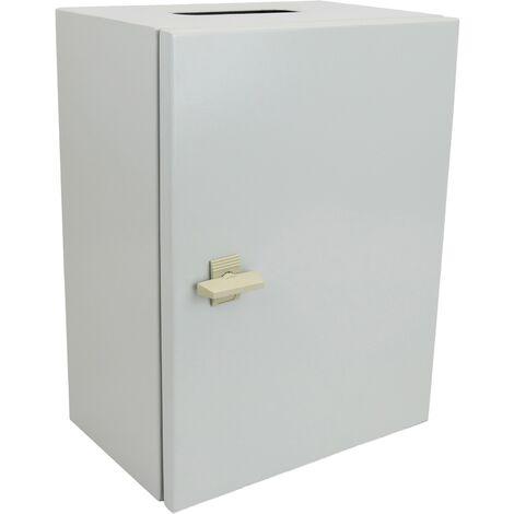 BeMatik - Metal electrical distribution box IP65 for wall mounting 300x200x200mm