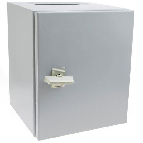 BeMatik - Metal electrical distribution box IP65 for wall mounting 300x250x250mm