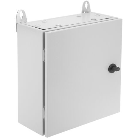 BeMatik - Metal electrical distribution box IP65 for wall mounting 300x300x150mm