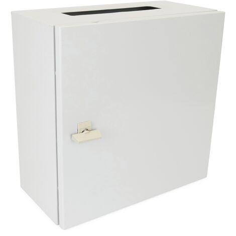 BeMatik - Metal electrical distribution box IP65 for wall mounting 300x300x200mm