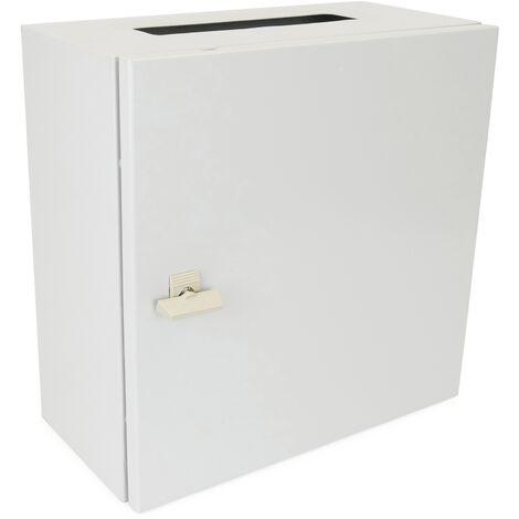 BeMatik - Metal electrical distribution box IP65 for wall mounting 300x300x250mm