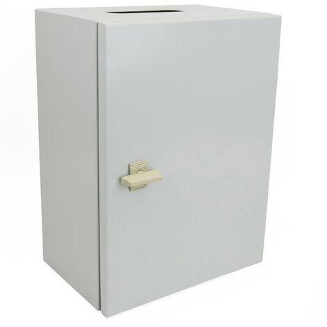 BeMatik - Metal electrical distribution box IP65 for wall mounting 400x300x200mm