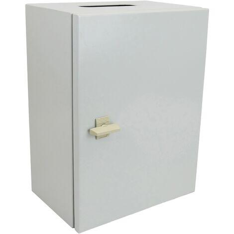 BeMatik - Metal electrical distribution box IP65 for wall mounting 400x300x300mm