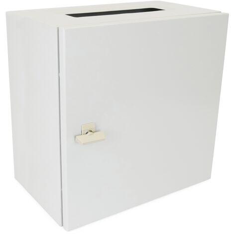 BeMatik - Metal electrical distribution box IP65 for wall mounting 500x500x300mm