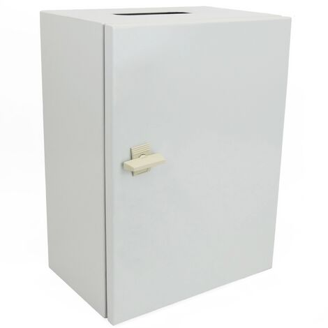 BeMatik - Metal electrical distribution box with IP65 protection for wall mounting 500x300x200mm