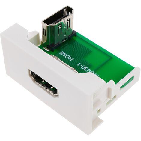 BeMatik - Módulo de 45x22,5mm HDMI acodado