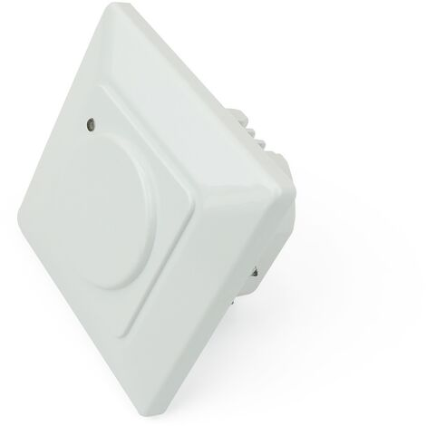 BeMatik - Movement detector embeded wall 80x80mm with control of light time and distance