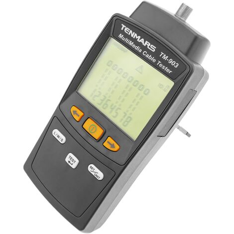 BeMatik - Multimedia LAN cable tester TM-903