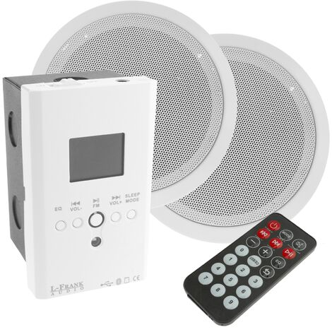BeMatik - Multimedia player amplifier with recessed ceiling speakers