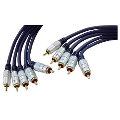 BeMatik - OFC Cable 5xRCA-M/M (3m)