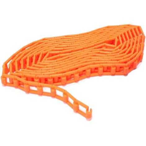 BeMatik - Orange plastic string for photo studio backgrounds reel