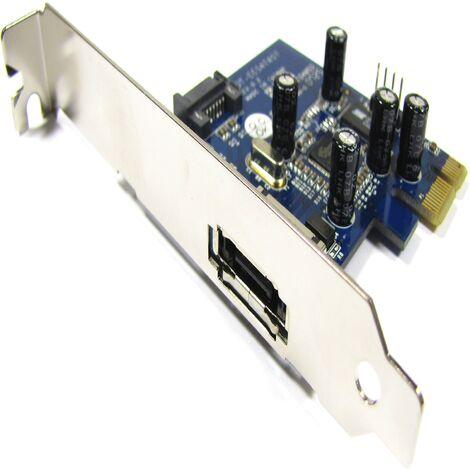BeMatik - PCI-Express adapter to eSATA (1 EXT) SIL3132