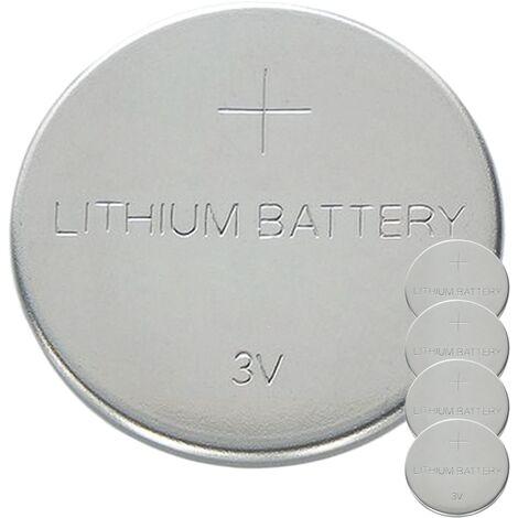 BeMatik - Pile CR2025 Lithium 3V 5 unités
