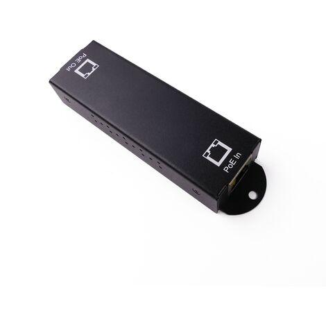 BeMatik - PoE LAN Extender and Repeater for additional 100 m gigabit