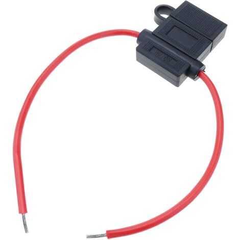 BeMatik - Portafusibles tipo lámina con cable