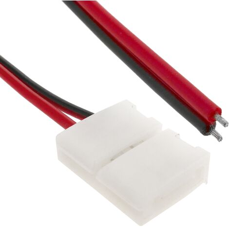 BeMatik - Pressure connector strip cable for monochrome LED 8mm