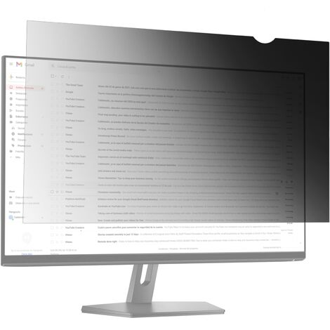 BeMatik - Protective privacy 16:9 filter for screen and monitor 15.6""