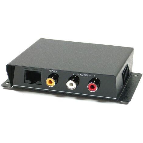 BeMatik - Receptor de audio y vídeo UTP Cat.5 para SH51 CE01A-S
