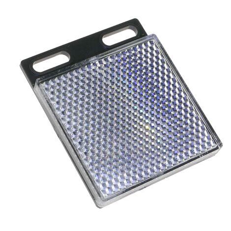 BeMatik - Reflector rectangular mirror reflex for photoelectric photocell 47x47mm