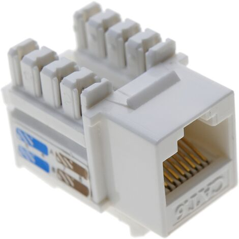 BeMatik - RJ45 Keystone Female to TB110 UTP Cat.6