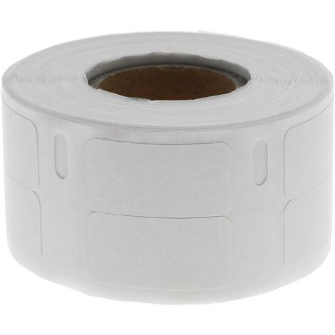 BeMatik - Rouleaux bobine 1000 étiquettes compatible Dymo S0722530 et Dymo 11353 24x12mm 10-pack
