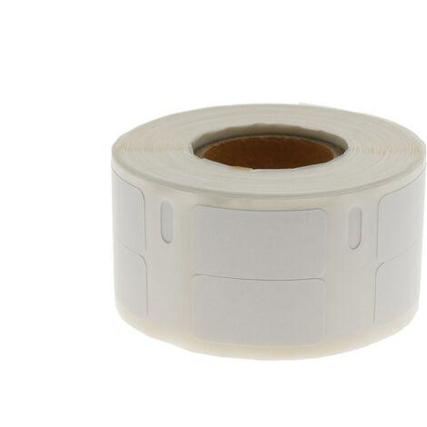 BeMatik - Rouleaux bobine 1000 étiquettes compatible Dymo S0722530 et Dymo 11353 24x12mm