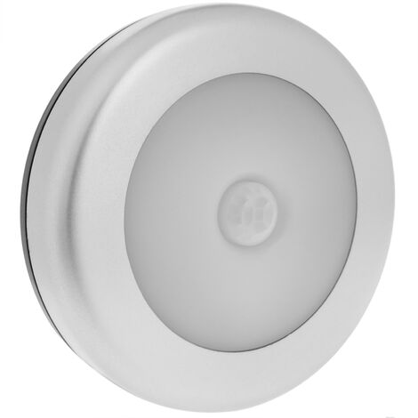 BeMatik - Round LED light with motion sensor and induction light for doors and cabinet interiors