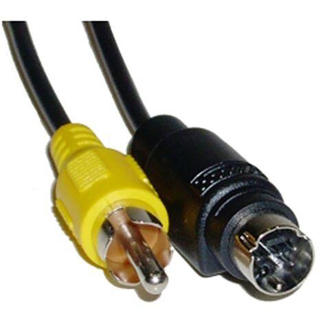 BeMatik - S-VHS cable 10m (MiniDIN7-M/RCA-M)