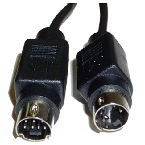 BeMatik - S-VHS cable 15m (MiniDIN7-M/MiniDIN4-M)